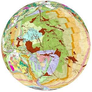 geological globe