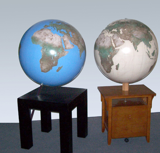 Displays for Globes